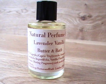 All Natural Perfume Oil, Lavender & Chamomile Scent, Vegan Perfume Oil, Relaxing Scent with Essential Oils