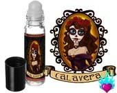 Sugar Skull Perfume Oil Rollerball Calavera