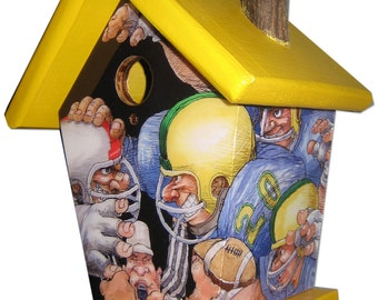 Football Birdhouse