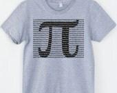 Women's Math Shirt Pi Day Pi Shirt Math Shirt Digits Pi TShirt Math Teacher Gifts for Teacher Shirt Physics Science Shirt Typography Tshirt