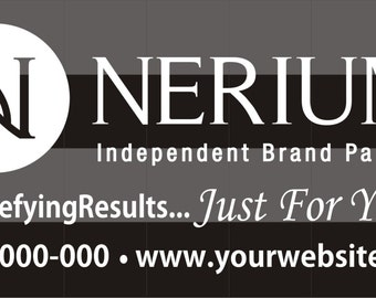 Nerium Just For you  Car Decal