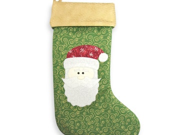 Christmas Stocking Pattern, Patterns Sewing, Christmas Sewing Patterns, Christmas Crafts, Easy Sewing Projects, Pdf Sewing Patterns