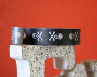 Black Skull Washi Tape