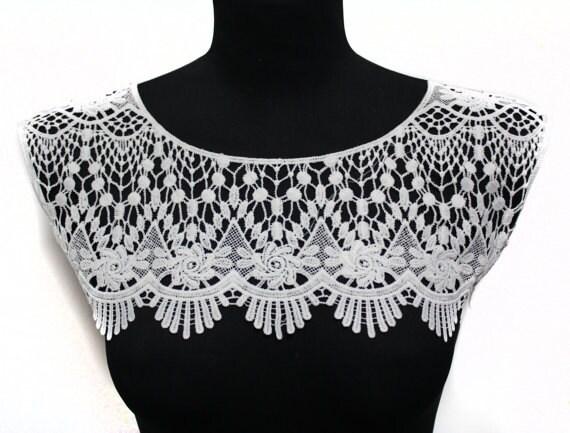 Crochet Collar Blouse 51