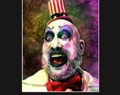 Captain Spaulding 11X14 Matted Print - Signed by Artist Joel Robinson