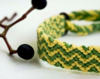 Snake friendship bracelet
