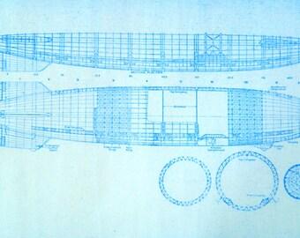 Blimp / Airship Blueprint