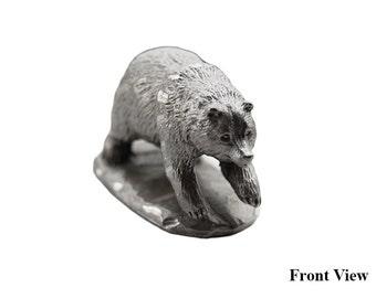 VIntage Rawcliffe Pewter Miniature Bear