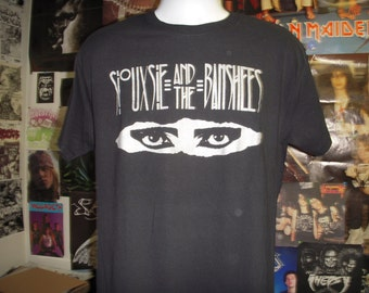 Siouxsie And The Banshees T-shirt (FREE SHIPPING in the Usa only) Goth Post Punk The Cure Joy Division Xmal Deutschland