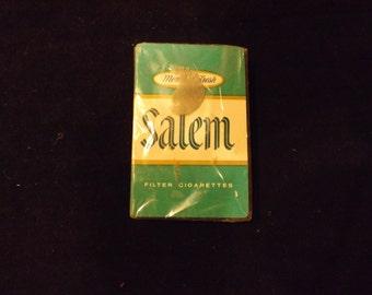 New Salem Cigarette Play Cards