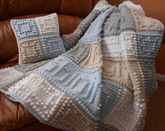 O, HOLY NIGHT crocheted blanket