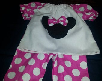 Minnie Mouse pants set