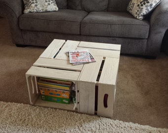 Popular Items For Crate Coffee Table On Etsy