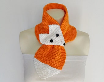 Knit / Cotton Orange Fox