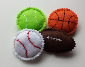 Sporty Kitty Catnip Pack - Hand-Stitched Catnip Toys