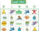 Instant download Sesame Street Bingo
