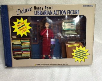 Nancy Pearl Librarian Action Figure Deluxe Set