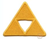 Legend of Zelda Triforce Inspired - Iron-on Patch