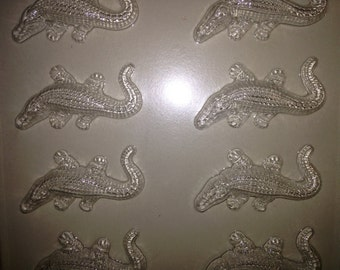 A13 - Chocolate Novelty Mold - Alligators
