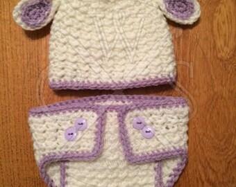 Crochet Lamb Set