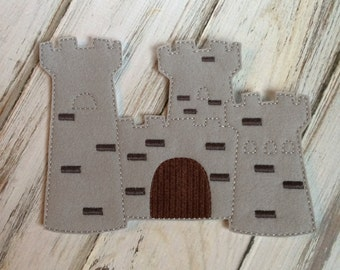 Felt Paper Doll Castle