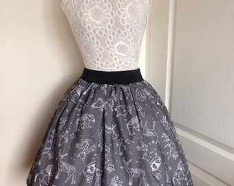Animal Constellations skirt
