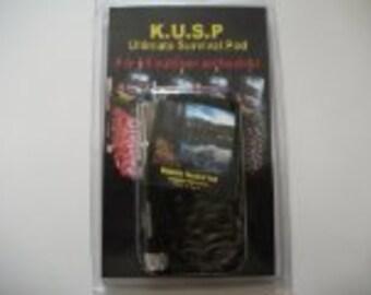 Survival Kit - Survival - Survival gear - Zombie Survival Kit - Utimate Survival Pod SALE - Fire Starter , Mini Flashlightt