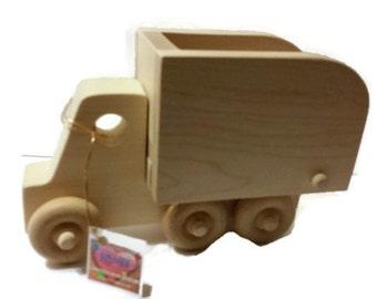 Wooden Toy Dump Truck - Wooden Toys