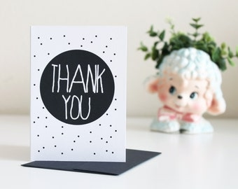 Thank You Cards Blank A1 Card or Card Set