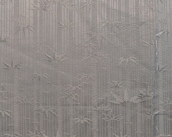 SF1311 Deeply textured bamboo on sage vintage silk