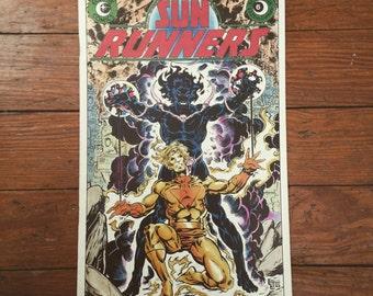 Sun Runners Vintage Comic Book