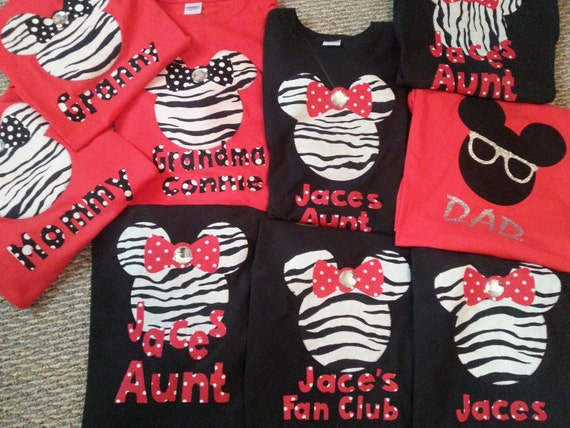Minnie Mouse Baby Shower Shirts