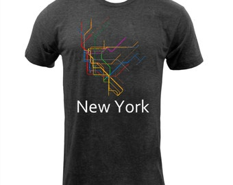 New York Subway  - Tri Black