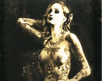 FREAKSHOW - Tattooed Beauty - Poster Print