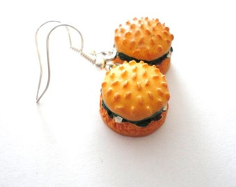 Earrings little Burger