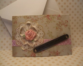 Love / Wedding Gift Card Holder (Mini card)
