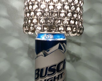Giant 25 oz Busch Light Beer Can Lamp with Pull Tab Lamp Shade - The Mancave Essential