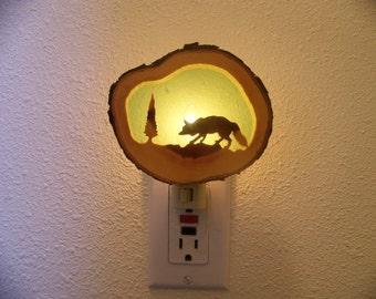 Red Fox nightlight