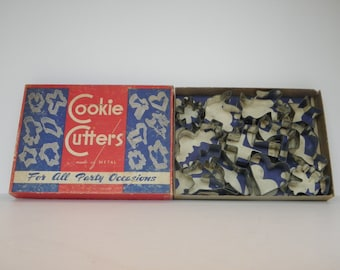 Vintage All Occasions Cookie Cutters