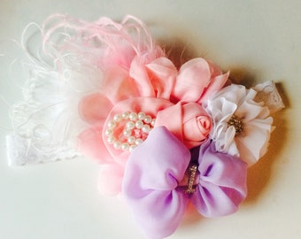 Birthday Girl Headband You choose the colors