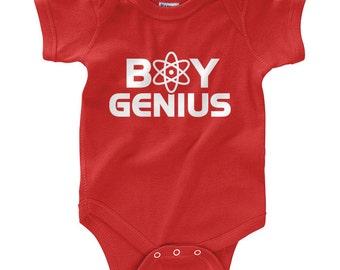 Boy Genius - Infant Bodysuit Creeper (Newborn- 24 Months)