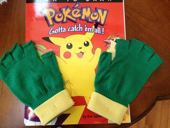 Pokemon go trainer gloves ash ketchum costume teen like this item solutioingenieria Images