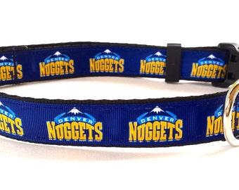 Denver Nuggets Dog Collar