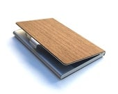 TIMBER Wood Skin Business Card Holder - Free Shipping United States Orders