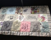 Beautiful Embroidered Patchwork Throw