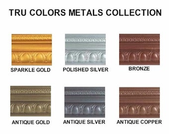 1/2 ounce Tru Colors Sparkles Soap Color - 3 Pack (Sparkle Gold, Polished Silver, Bronze)