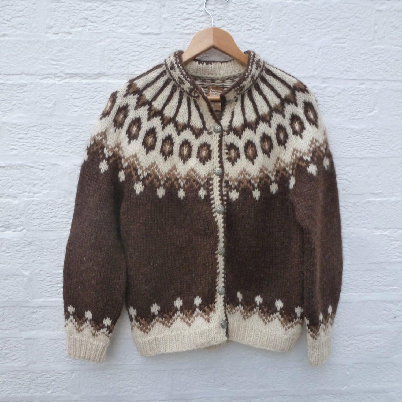 cardigan nordic clothes vintage boho wool clothing handknitted. Black Bedroom Furniture Sets. Home Design Ideas