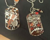 San Francisco Giants OR 49ers Inspired Bling Embellished Necklace