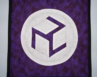 """RG028 - 11""""(28cm) Purple Antahkarana"""