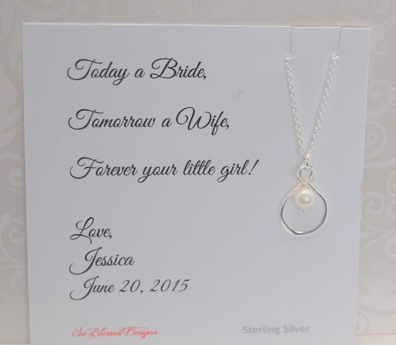 ... Wedding day gift for your Mother, Thank you MOM, Sentimental gift for